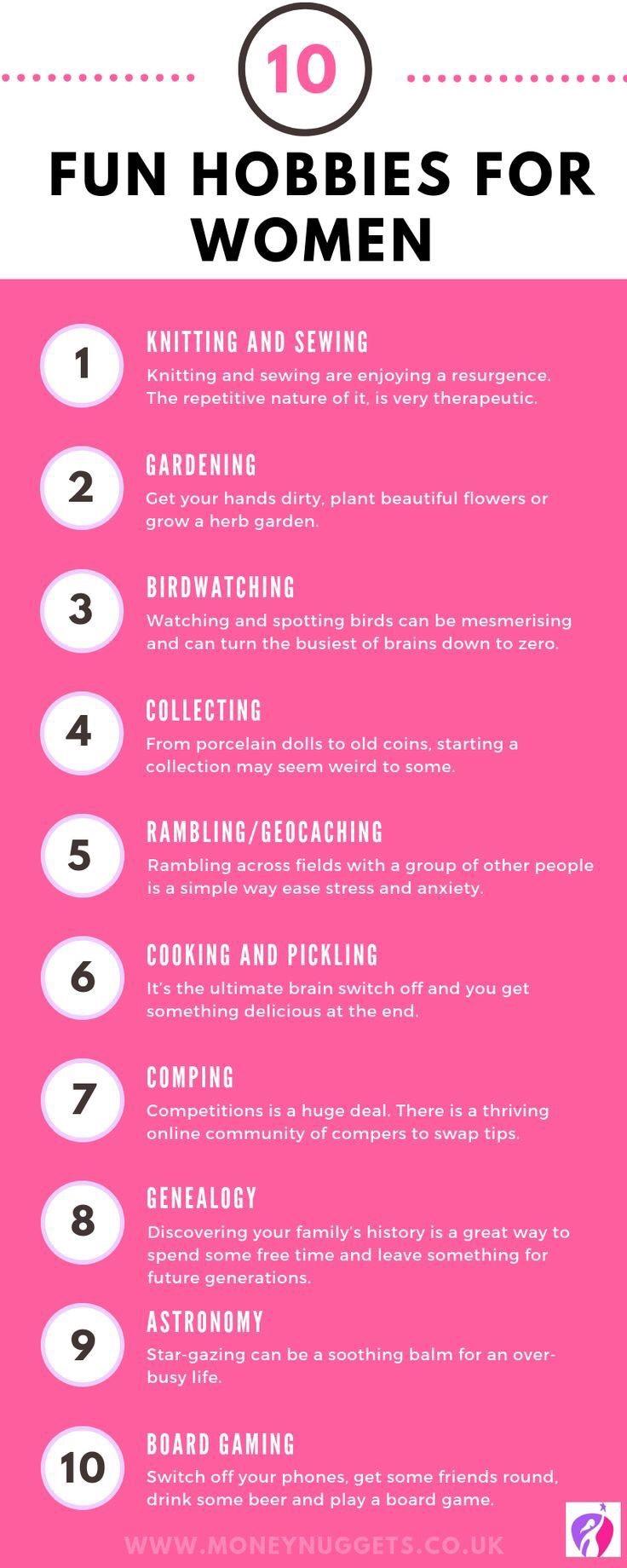 Ten Hobbies For Women You Can Enjoy From Home Back Pain Blog Uk
